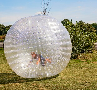 imagine the away team in human hamster balls plummeting to the surface of a hostile planet