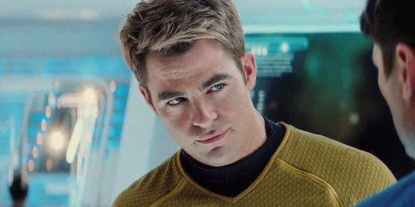 Chris Pine in Star Trek
