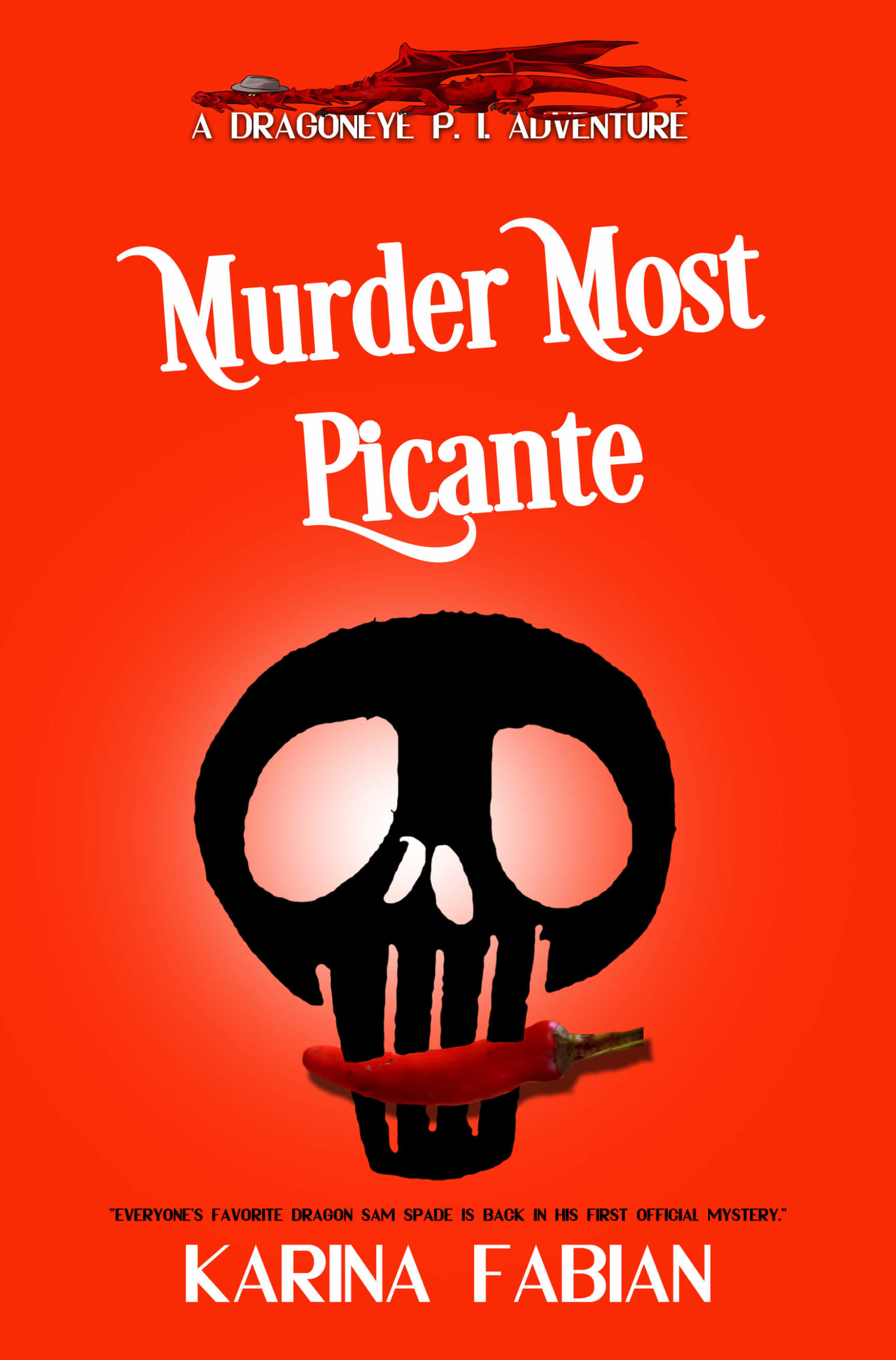 Cover art for Murder Most Picante